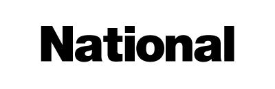 Nationalのロゴもヘルベチカ