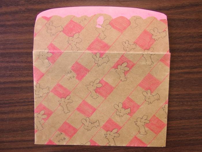 うさぎのレターセット デザイン封筒
