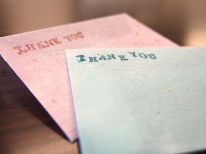 アクアリウム デザイン封筒