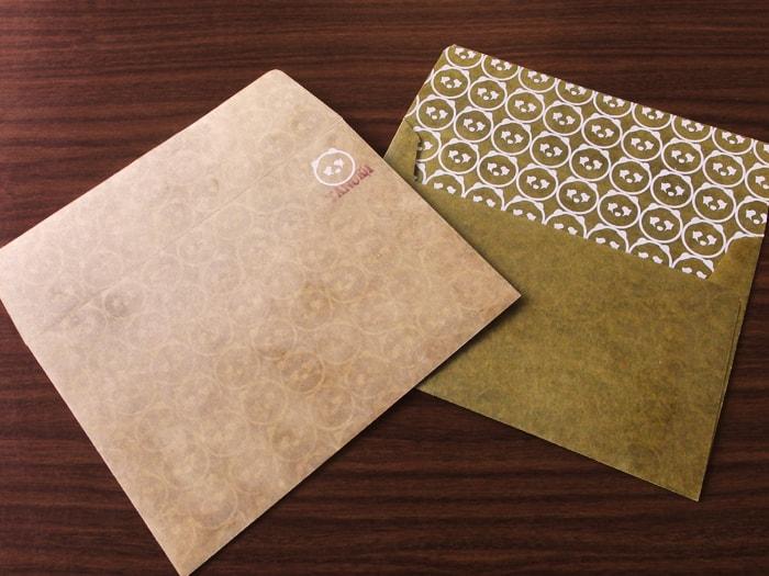 たぬき デザイン封筒